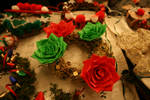 My christmas wreath by theshyfox