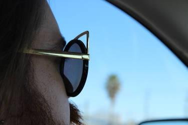 Cat Eye Glasses by theshyfox