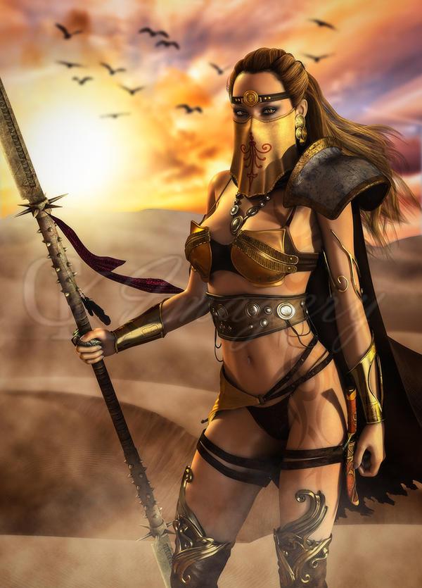 ~ Desert Warrior ~ by CKImagery