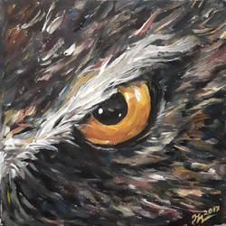 owl's eye by Leona-Norten