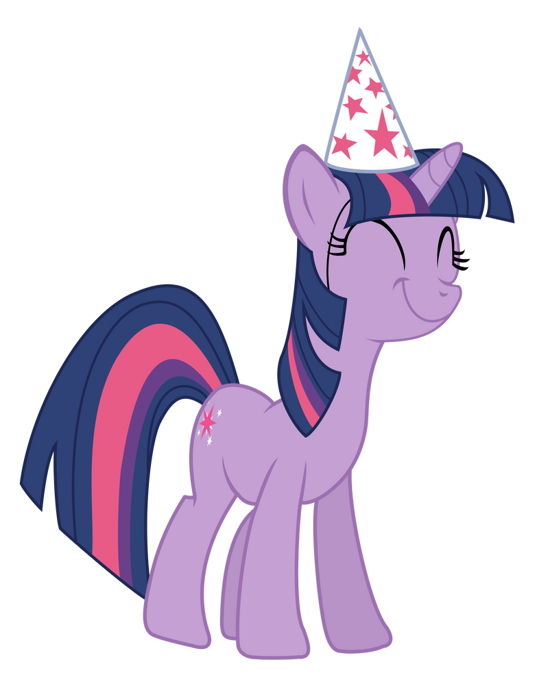 Twilight in a party hat by stricer555