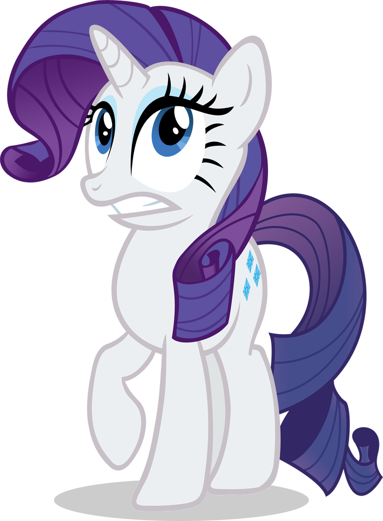 Rarity Worried by stricer555