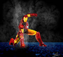 iron man by leseraphin