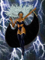 Ororo in the Storm by leseraphin