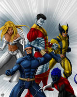 X Men by leseraphin