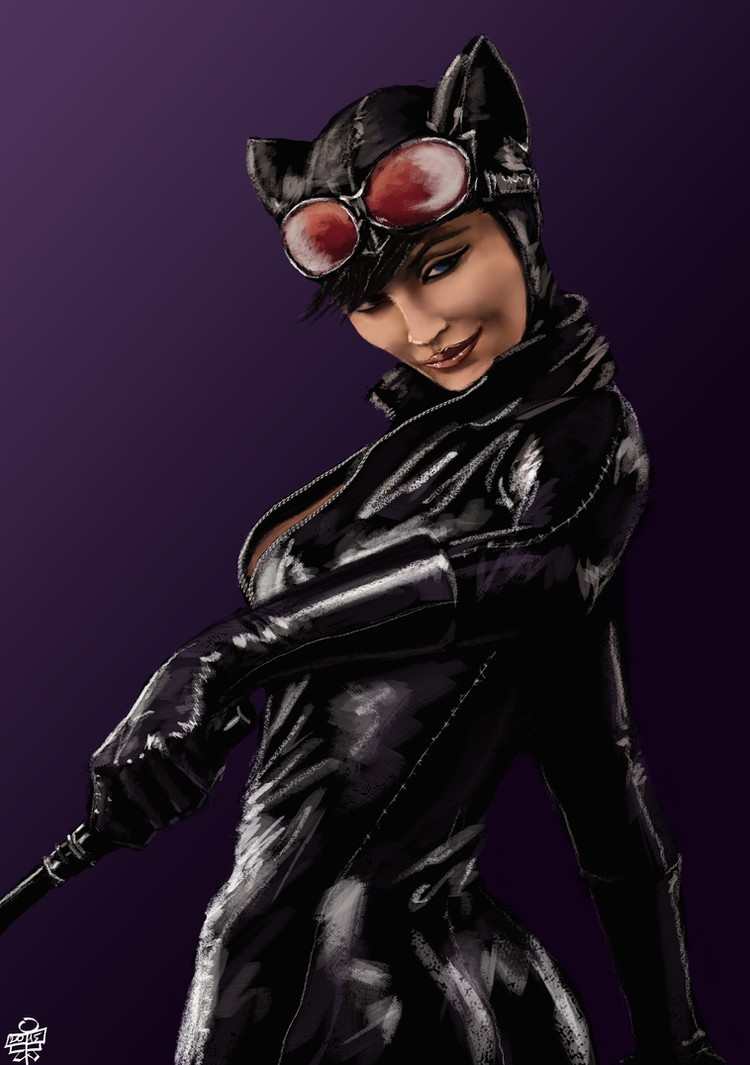 Catwoman by leseraphin