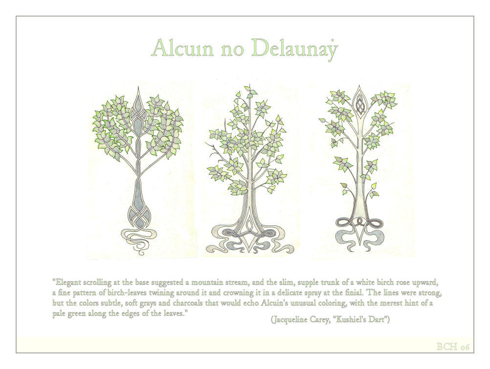 Alcuin's marque - designs II by elegaer