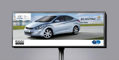 Outdoor - Elantra 2011 - Hyundai by remonfayez