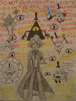 Gravity Falls- Bill Cipher by BloodyxBlackxSoul