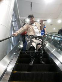 attack on titan cosplay - sannagi by bluewave07