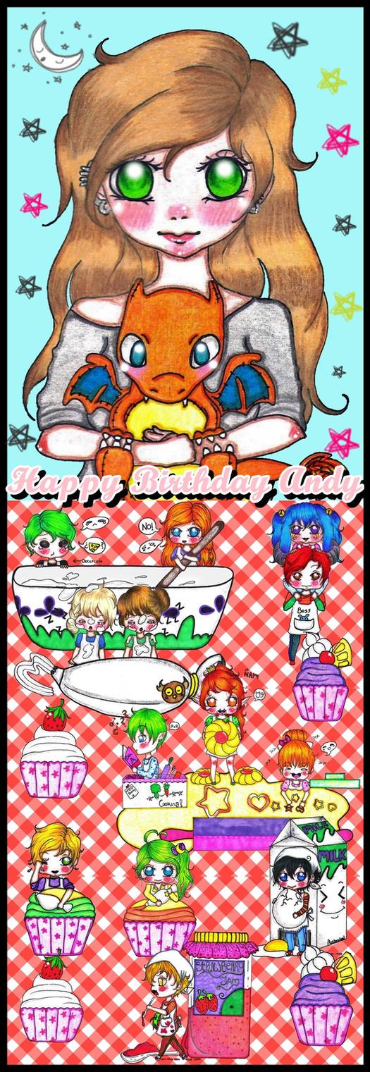 Happy Birthday Sweety by maribony