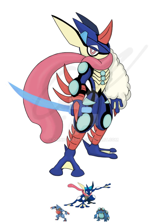 Pokemon Fusion Ultimate Greninja By Omnigemerl On Deviantart