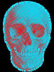 Halftoneskull