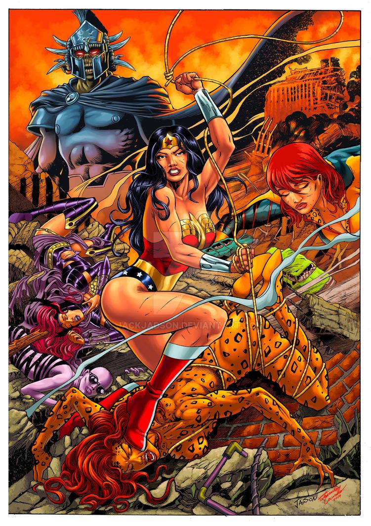 Capa Mundo dos Super-herois - Color Fernando Carv by jackjadson