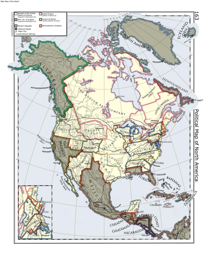 A Very odd USA by Ammonoidea
