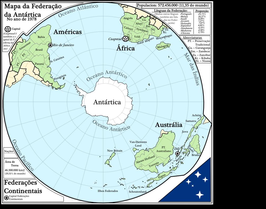 Antarctic Federation by Ammonoidea