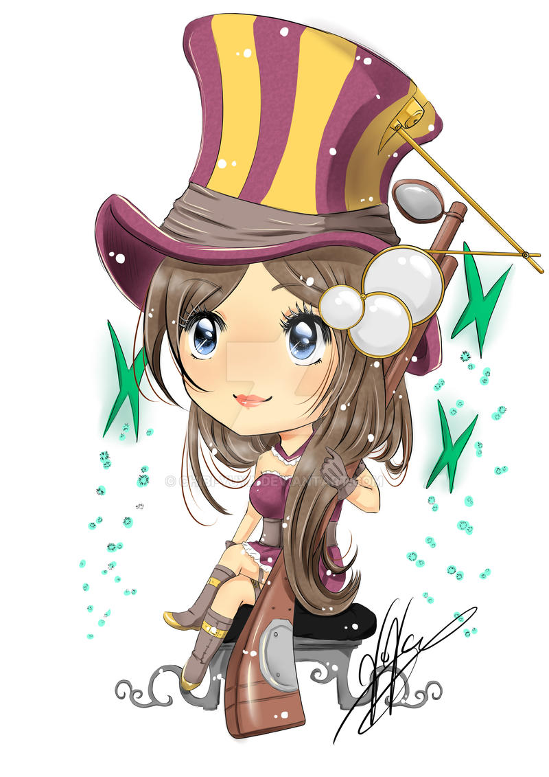 Chibi Caitlyn League of legend by Chibi-YuYa on DeviantArt