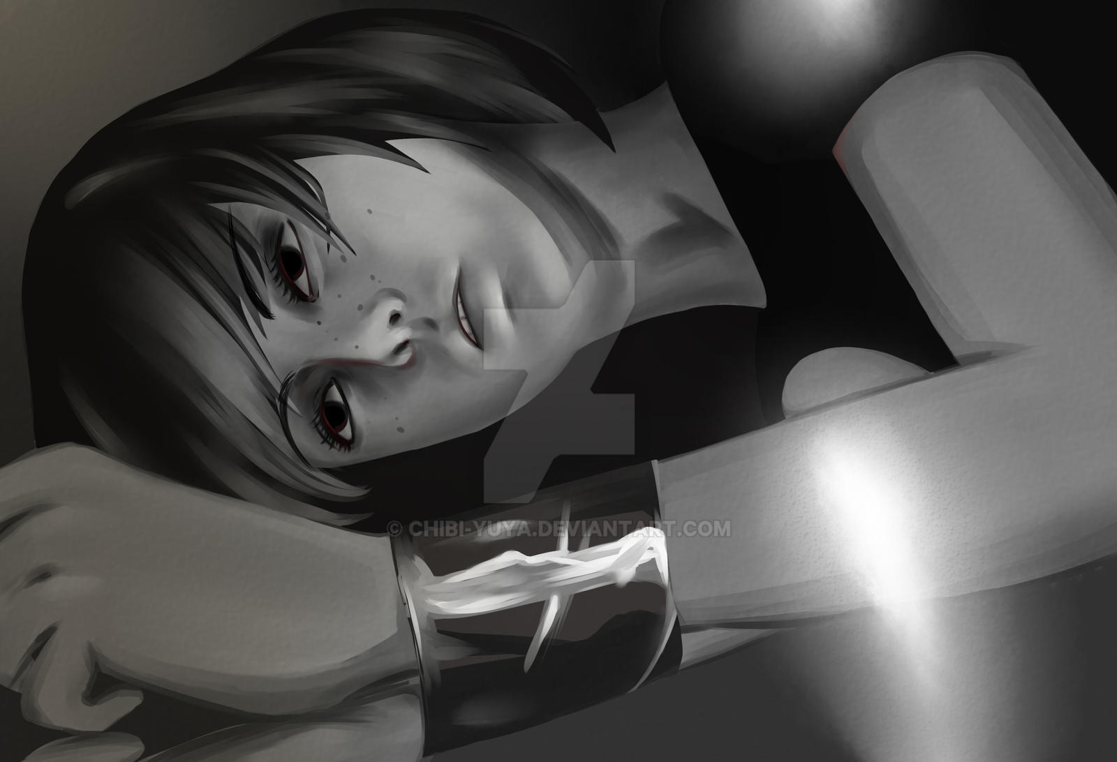 Max in the Dark Room by Chibi-YuYa on DeviantArt