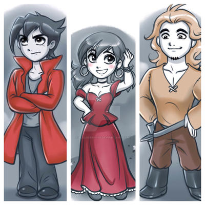 DG.:The wizard, the wanderer, and the waitress:. by bleuberry109