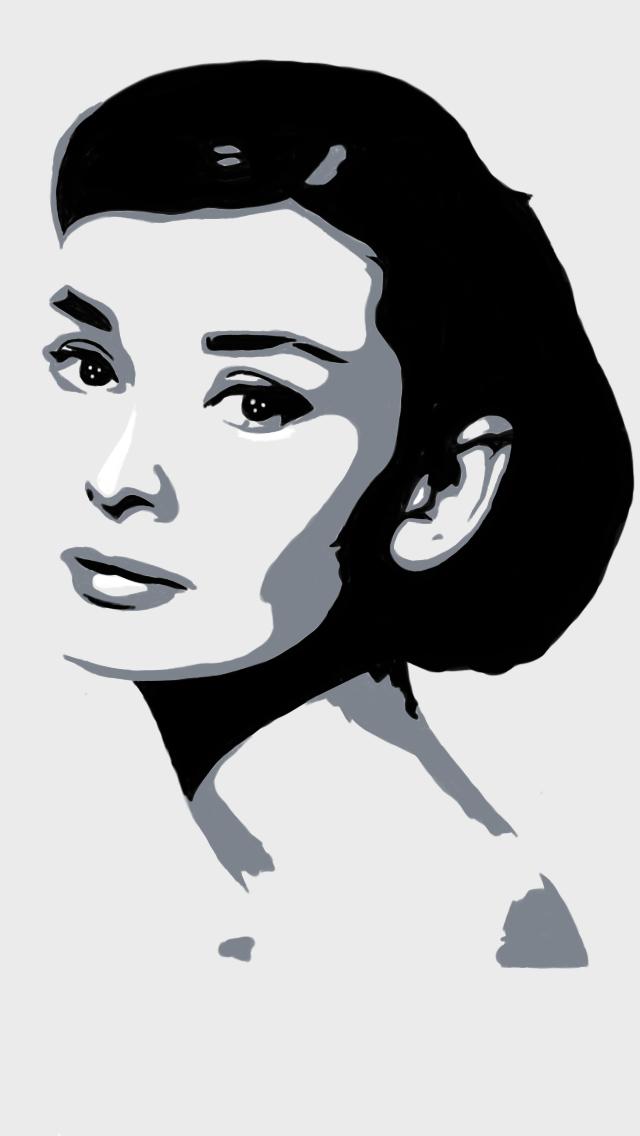 Как сделать черно белый портрет