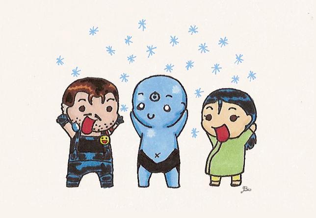 Snowflakes by Biigurutwin