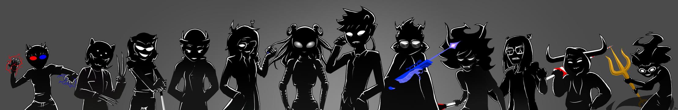 Midnight Crew Trolls by Biigurutwin