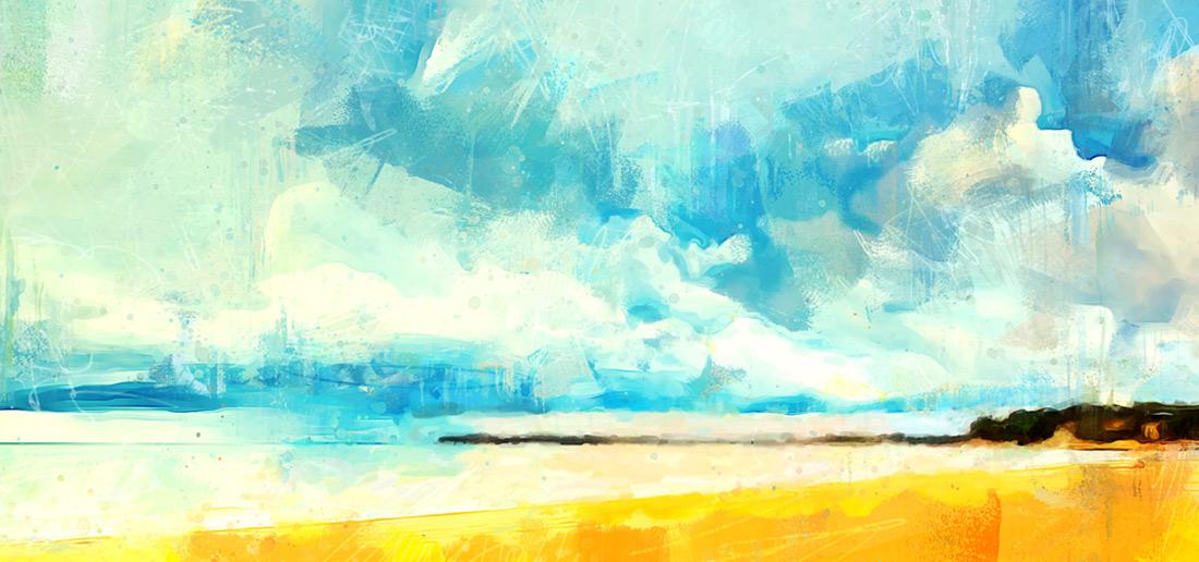 Stormy Skies by Cr8ivDigitalPainting