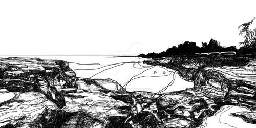 Sketch - East Point, Darwin NT