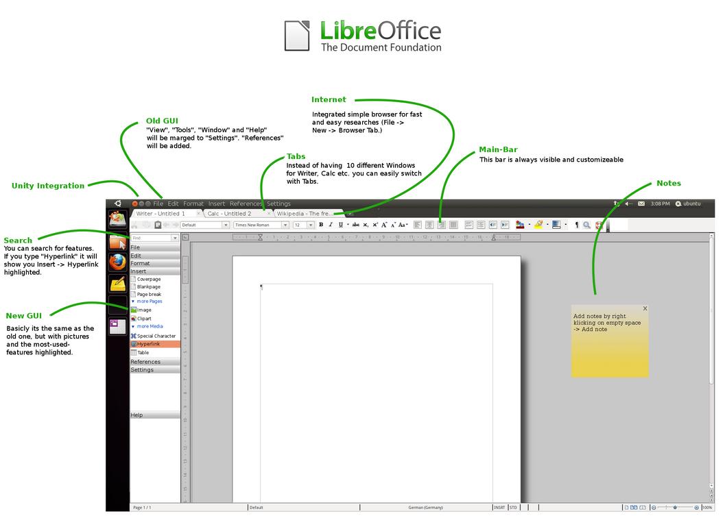 Libre Office Mockup 2 Unity by usrnametaken
