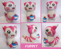 Shiny Furret by GearCraft