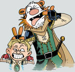 CalvinJarek and HobbesKoj