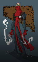 GunGhoul by Mitchell COLORED by mattcrap