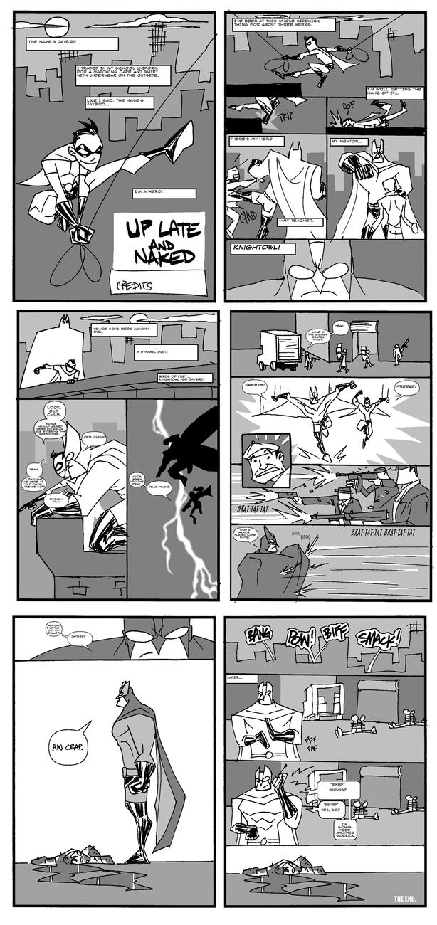 Up Late and Naked  -layouts by mattcrap