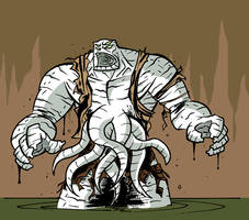 OfManAndMonster KRAGG color by mattcrap