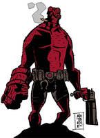 BigFisted Hellboy by mattcrap