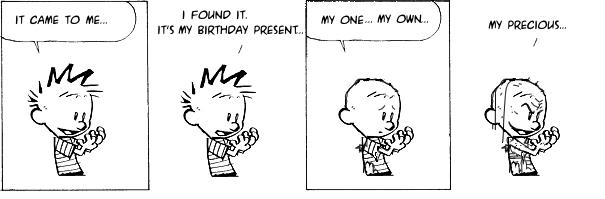 Calvin and PreciousSSsssSSsss