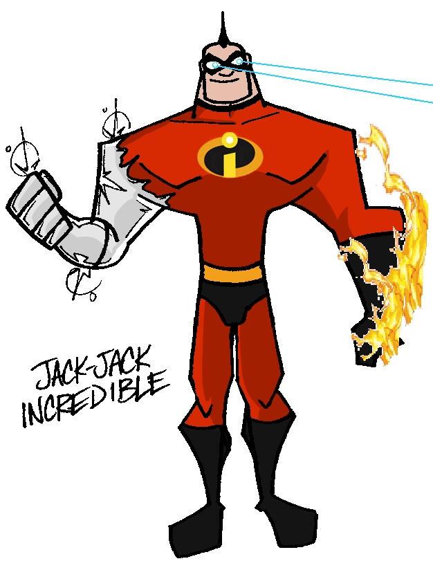 The Incredibles Jack Jack Grown Up