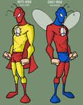 Mite-Man and Gnat-Man