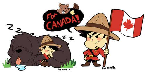 Canada by Feri-Marife