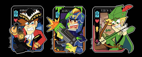 Some Phone Destroyer Cards by Feri-Marife