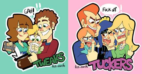Tweaks and Tuckers! by Feri-Marife