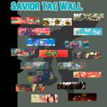 Tag Wall