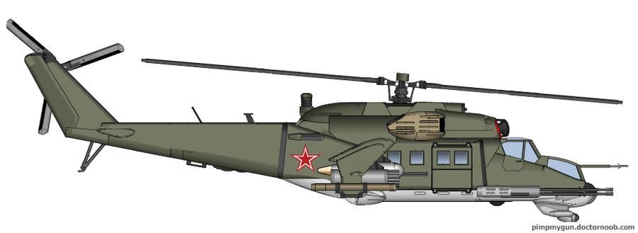 Mi-24P Hind-F by T0RYU