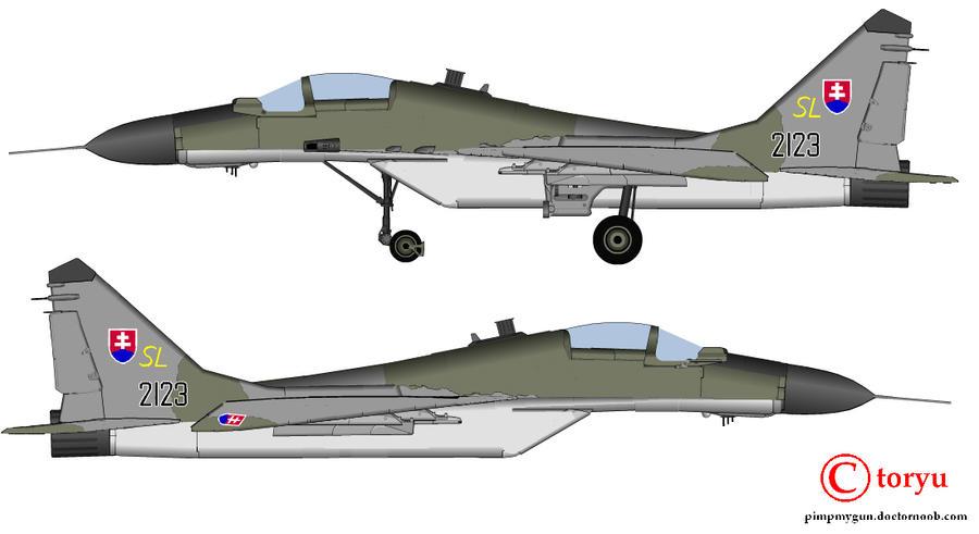 MiG-29 by T0RYU