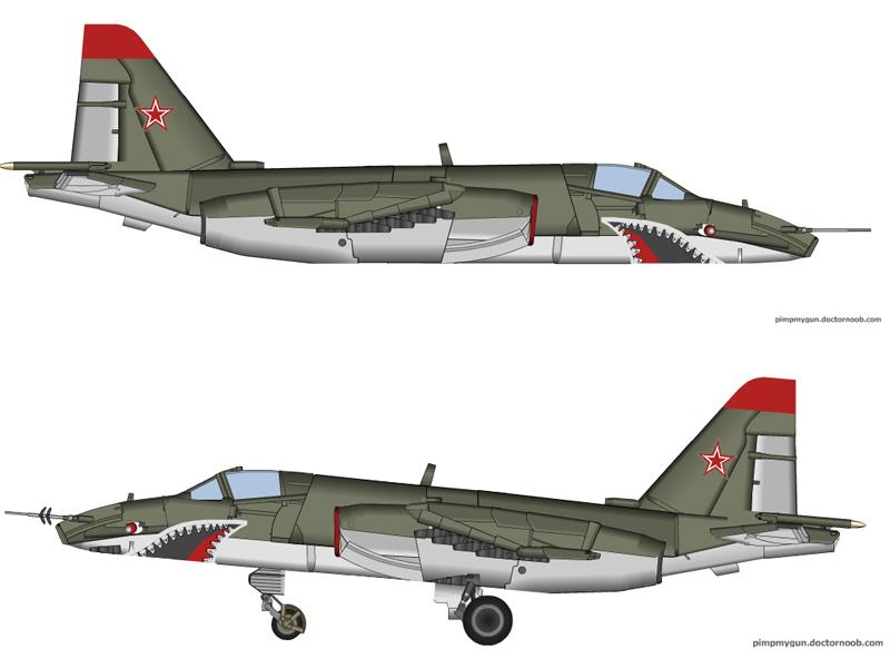 SU-25 by T0RYU