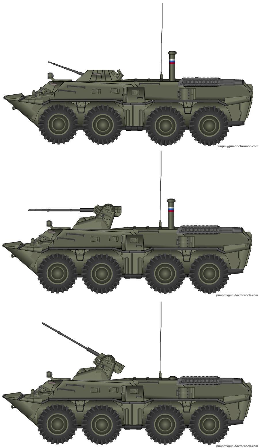 BTR-80 + BTR-80A by T0RYU