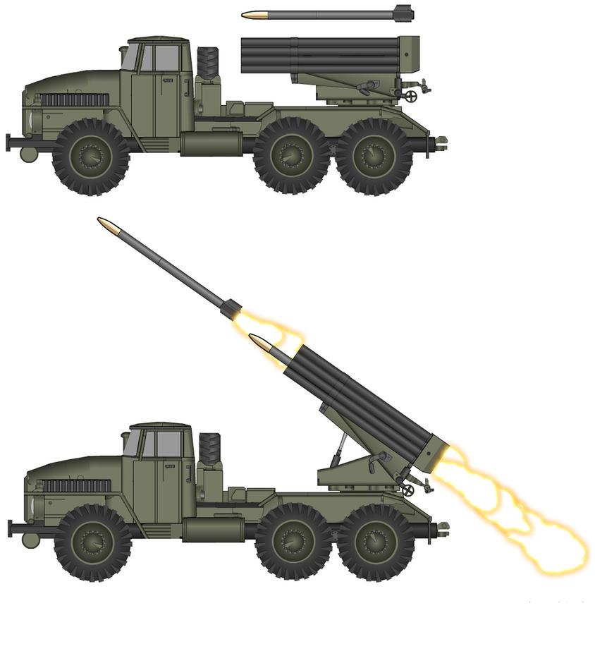 BM-21 MLRS by T0RYU