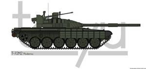 T-72M2 Moderna by T0RYU