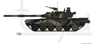 T-90_v2 by T0RYU