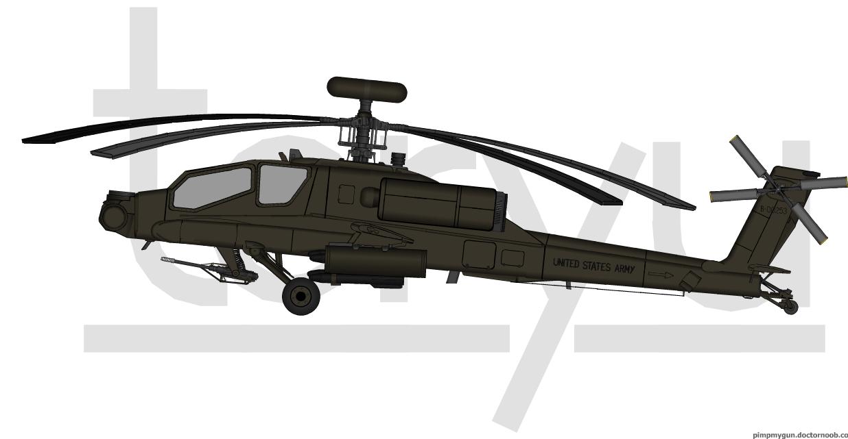 AH-64 'Apache' by T0RYU